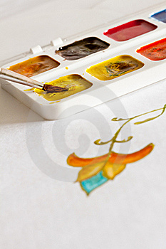 Watercolors. Royalty Free Stock Photos - Image: 18057918