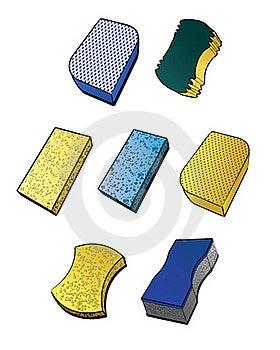 Sponges Stock Photos - Image: 18058153