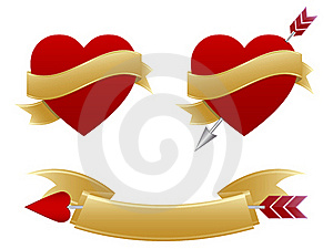 Valentines Icons Royalty Free Stock Photos - Image: 18059878