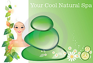 Natural Spa Royalty Free Stock Image - Image: 18060786