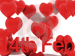 14th February St. Valentines Day Stock Image - Image: 18069611