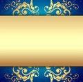 Elegant Golden Background Stock Photo