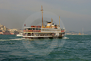 Passenger Boat In Istanbul Royalty Free Stock Image - Image: 18070546