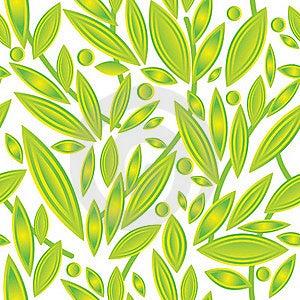 Sample_spring_leaves_green Stock Photo - Image: 18070630