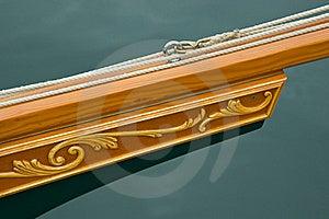Custom Craftsmanship Bowsprit Royalty Free Stock Image - Image: 18072886