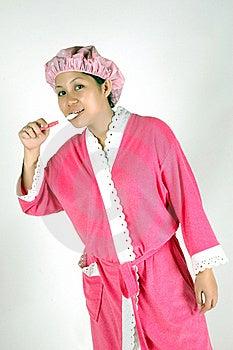Jonge Aziatische Vrouw Royalty-vrije Stock Afbeelding - Afbeelding: 18074816