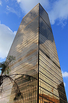 Hong Kong Skyscrapers Royalty Free Stock Images - Image: 18074959