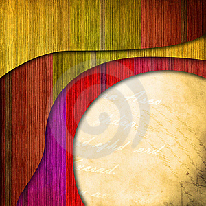 Abstract Color Background With Custom Text Stock Image - Image: 18076171