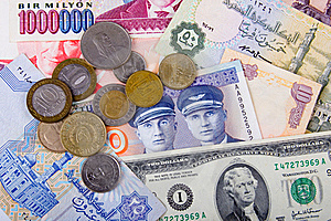 Heap Of Cash Stock Photo - Image: 18076550
