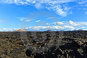 Stones Of Volcanic Flow Royalty Free Stock Images - Image: 18077079