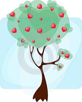 Tree Hearts Stock Photography - Image: 18078602