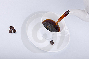 Pouring Coffee Stock Images - Image: 18084174