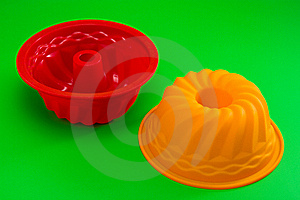 Silicone Cupcake Forms Royalty Free Stock Images - Image: 18087409
