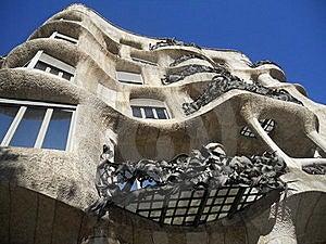 Barelona , Gaudi Royalty Free Stock Photos - Image: 18087868