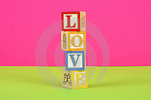 Love Pink And Green Stock Photo - Image: 18089480