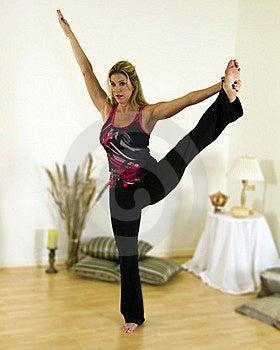 Yoga Advanced Balance Pose Royalty Free Stock Photo - Image: 18089715