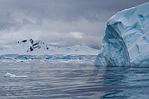 Iceberg Blue Stock Image - Image: 18090621