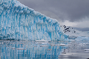 Iceberg Blue Royalty Free Stock Image - Image: 18090656