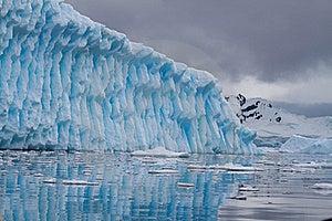 Iceberg Blue Royalty Free Stock Image - Image: 18090656