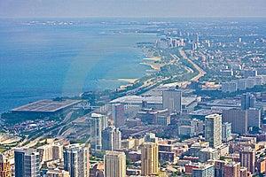 Chicago Cityscape, United States Stock Images - Image: 18091414