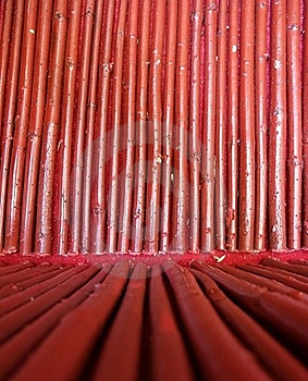 Seamless Red Bamboo Wood Background Royalty Free Stock Photography - Image: 18099597