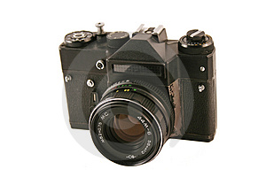 Old camera Free Stock Image