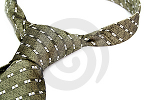 Tie With A Simple Pattern - A Personal Accessory Of The Business Royalty Free Stock Image - Image: 1817086