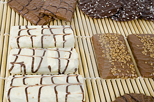 White Chocolate Cookies Stock Image - Image: 1819741