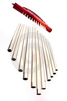 Harmony Pipes Bell Stock Photo - Image: 18100140