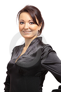 Beautiful Young Businesswoman Stock Photography - Image: 18100442