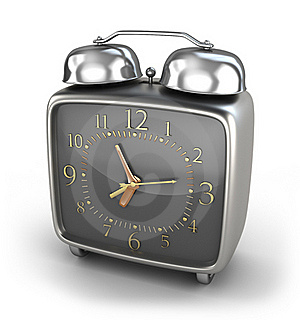Alarm Clock Old Style Royalty Free Stock Photos - Image: 18100958