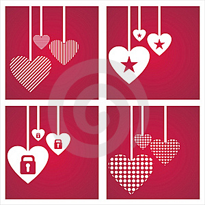 St. Valentine's Day Backgrounds Royalty Free Stock Images - Image: 18101139