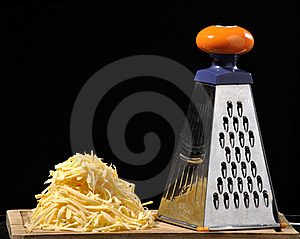 Grated Cheese Royalty Free Stock Photo - Image: 18105095