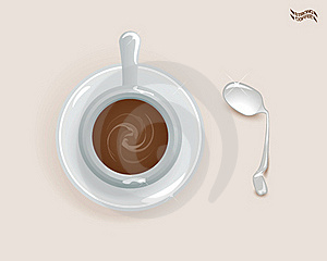 Strong Coffee Stock Image - Image: 18107821