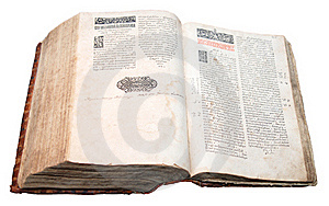 Ostroh Bible, Published In 1581 Stock Image - Image: 18112441