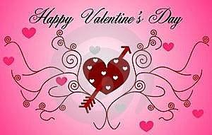 Happy Valentine's Day Stock Photo - Image: 18119810