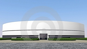 Factory Entrance Royalty Free Stock Photos - Image: 18119838