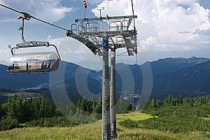 Ski Lift Chair Royalty Free Stock Photos - Image: 18120668