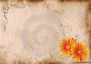 Decorative Floral Background Royalty Free Stock Photo - Image: 18121205