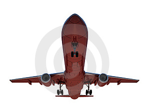 Sinking Aircraft Landing Royalty Free Stock Photo - Image: 18121495