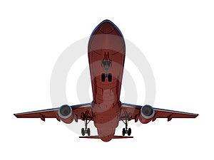 Sinking Aircraft Landing Royalty Free Stock Photo - Image: 18121495