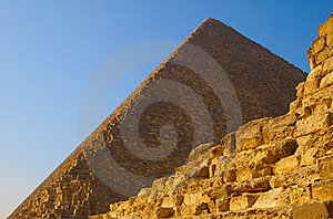 Ruins Of The Pyramid Of Cheops Royalty Free Stock Photography - Image: 18125787