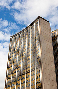 1960's Office Building In Sydney, Australia. Royalty Free Stock Photos - Image: 18128428