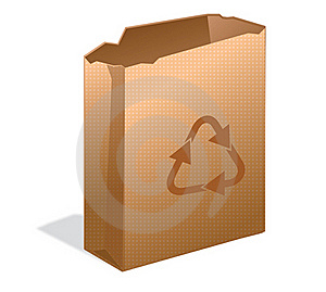 Recycle Paper Bag Stock Photos - Image: 18131963