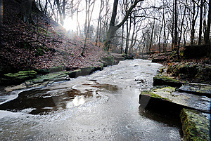 A Frozen Stream Stock Photography - Image: 18140252
