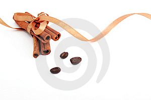 Cinnamon Sticks Bonded Royalty Free Stock Photos - Image: 18140558