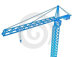 3D Render Of Crane Stock Photos - Image: 18141793