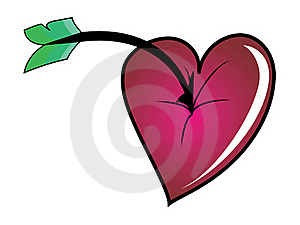 Heart Which Cannot Be Broken Through Stock Photo - Image: 18145080