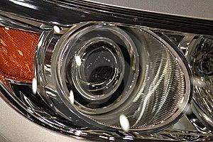 Car Headlights Stock Image - Image: 18146211