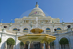 The US Capitol Royalty Free Stock Photography - Image: 18153287
